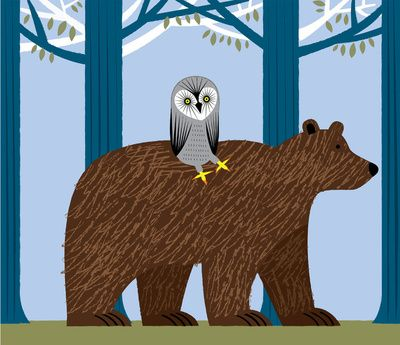 The Owl and The Bear  by Oliver Lake