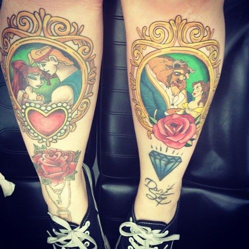 Disney Princess Tattoo
