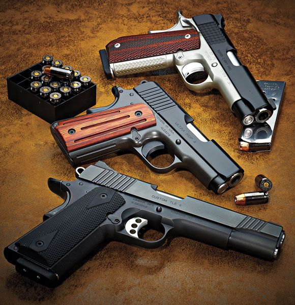 Top Three 1911 Pistols from Kimber --by Patrick Sweeney   |  October 24th, 2010   --Read more: http://www.gunsandammo.com/reviews/top-three-1911-pistols-from-kimber/#ixzz40fffdkCG
