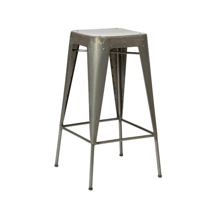 Steel stools - breakfast bar