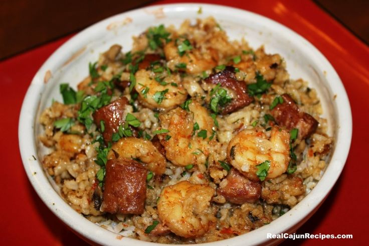 Hitachi Shrimp Jambalaya--( Rice Cooker)-This is a very easy to make shrimp Jambalaya.  Great for a Lenten meal – or any meal, you can substitute vegetable broth for chicken broth.  One to two links of sliced smoked sausage may be added.