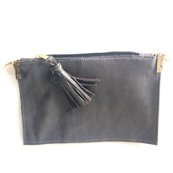 Evening fringe purse, Elegant fringe purse, Wallet with strap, Big... (21 KWD) ❤ liked on Polyvore featuring bags, holiday bags, gray bag, grey evening bag, gray leather bag and zip bag