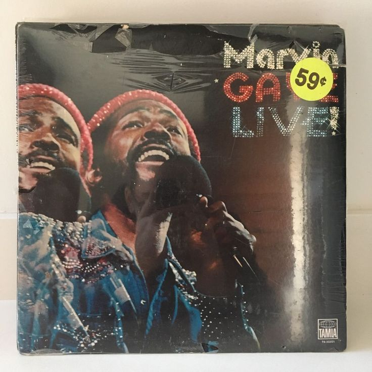 MARVIN GAYE Live! LP 1974 Tamla Motown T6-333S1 FACTORY SEALED early US PRESS #ClassicRBFunkSoul