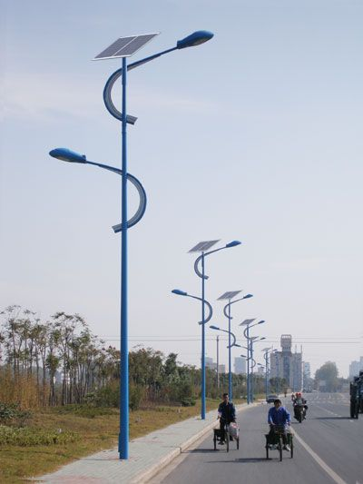 Solar Street Light Solar LED Lights & Lamp WHY COULDN'T TORONTO CONSIDER STREET LIGHTS LIKE THESE, INSTEAD OF THE BORING ONES WE CURRENLY HAVE.