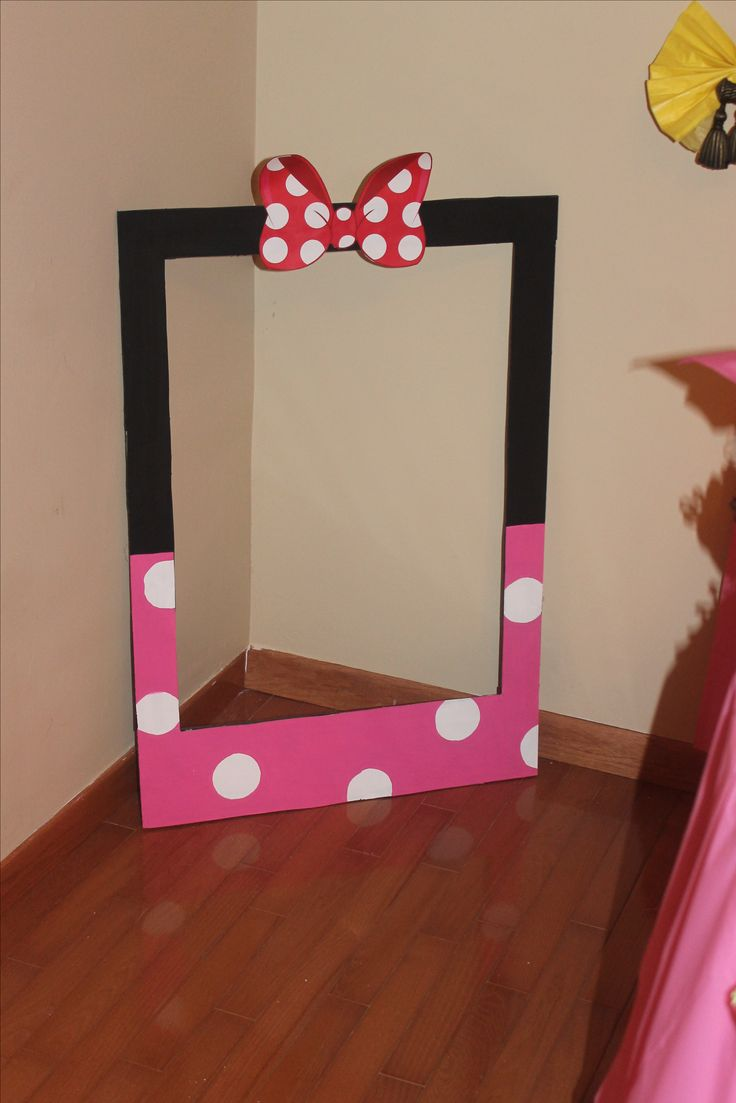 Minnie Mouse always has a place in the memories for every girl.