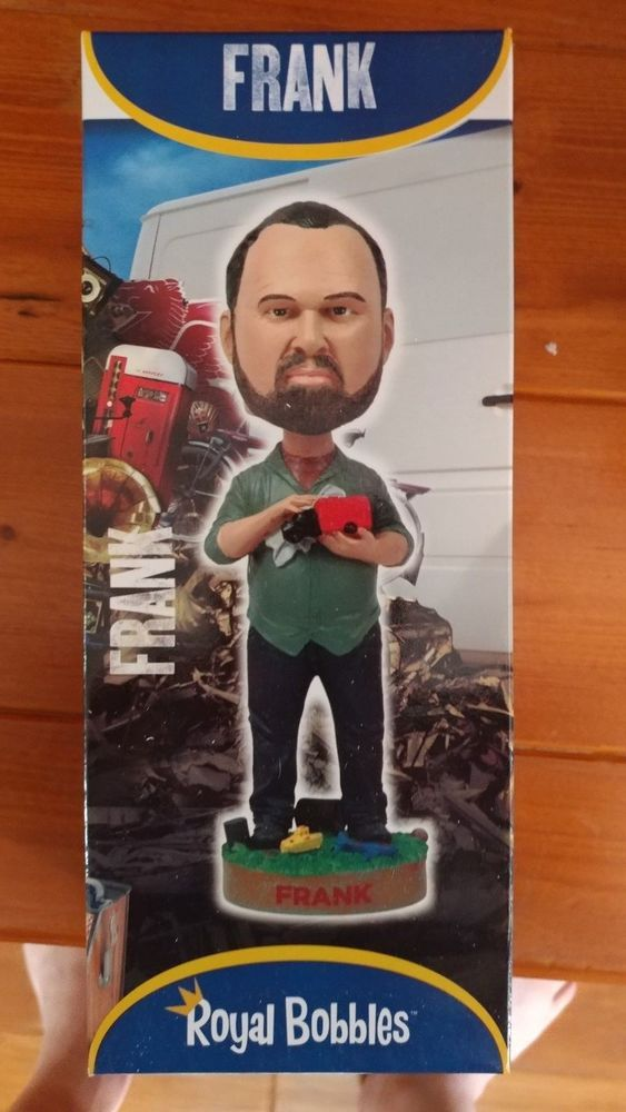 American Pickers Bobbleheads Set Of 3: Mike Wolfe, Frank Fritz & Danielle Colby