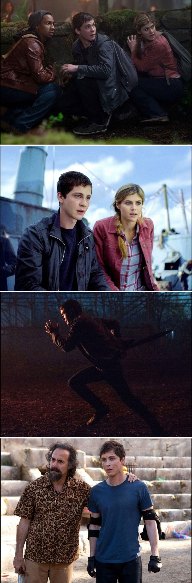 Percy Jackson and the Sea of Monsters. I just watched the trailer and AAAGGGGG!!!!!!!! I just hope they don't mess it up.