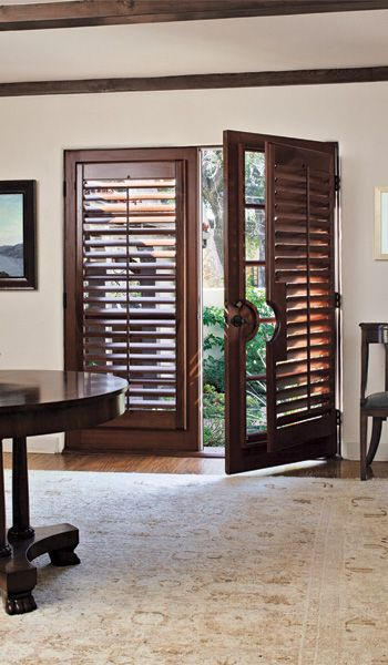 123 best plantation shutters images on pinterest blinds Plantation shutters for doors interior