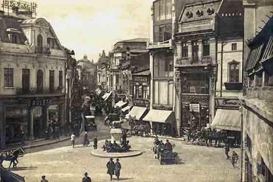 Bucuresti , Piata Sf. Gheorghe , 1926