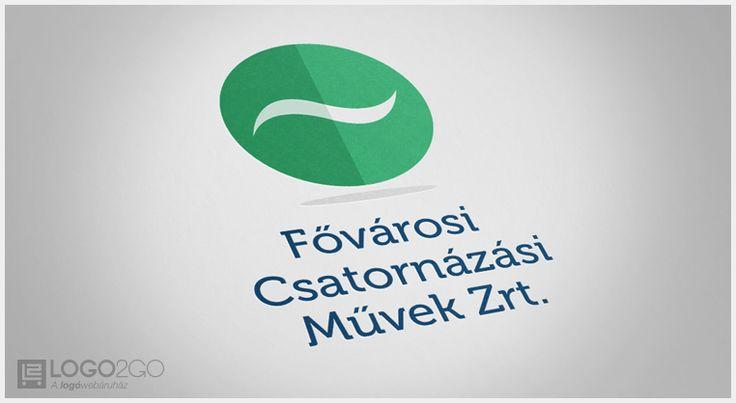 Fővárosi Csatornázási Művek logó terv
