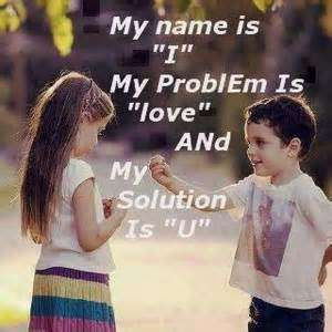Cute Baby Couple with Quotes