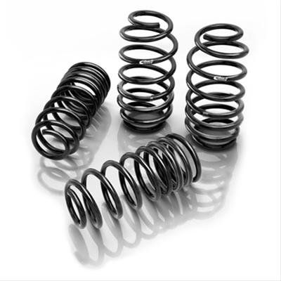 "2012-2013 Jeep Grand Cherokee SRT-8 Eibach Pro-Kit Lowering Springs 28109.540    These Pro-Kit lowering springs are Eibach's most popular springs--and there's a reason for that. These springs reduce fender gap .800"" in the front and 1.1"" in the rear to give your Jeep Grand Cherokee SRT8 a lower, more aggressive stance."