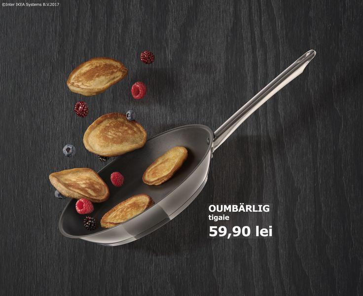 În zilele în care vrei să gătești ceva e bine să ai aproape tot ce îți trebuie. Până pe 23 aprilie, toate tigăile noastre au o reducere de 20% ca să fie mai ușor să ai o bucătărie care să te inspire să gătești orice, oricând.  Oferta este valabilă în perioada 03-23 aprilie, pentru membrii IKEA FAMILY, în limita stocului disponibil.