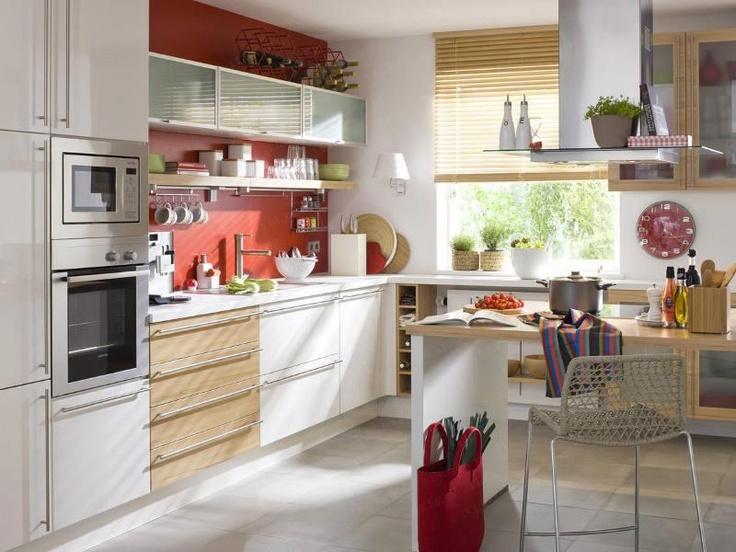 wall color Kücheneinrichtung, Wandgestaltung, Kleine küche