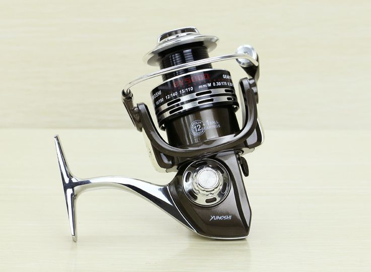 Free shipping fish reels 12BB + 1 Ball bearing spinning reel series 3000-7000 Rocky Reels Boat Fishing Tools
