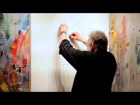 Jonas Gerard - Live Painting at Fundraiser