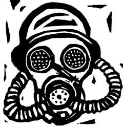 'Reasons To Be Cheerful, Part 18' - Gas Masks — 100 Days Project