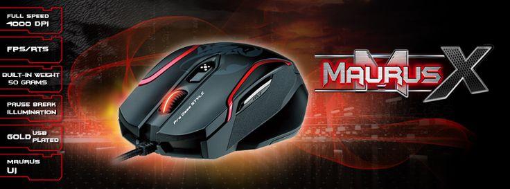 Genius GX-Gaming Maurus Gaming Mouse @ Gadget BD  Details- http://gadgetbd.com/product/genius-gx-gaming-maurus-gaming-mouse/