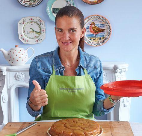 Receta para hacer la tarta tatin de manzana y hojaldre de la manera más sencilla y fácil con el molde de silicona de Lékué.