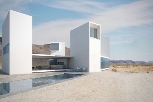 Modern castle. Who wouldn't want their own tower!Eye House, Coachella, California, Dreams House, Ogosta Architecture, Los Angels, Edward Ogosta, Deserts, Design