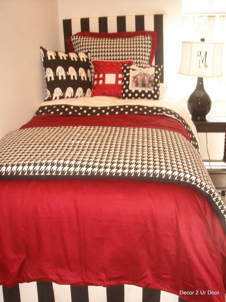 University of Alabama UA Girl College Dorm Bedding Set
