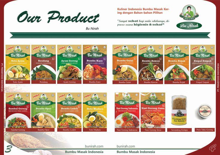 Company Profile Our Product Bu Nirah Page