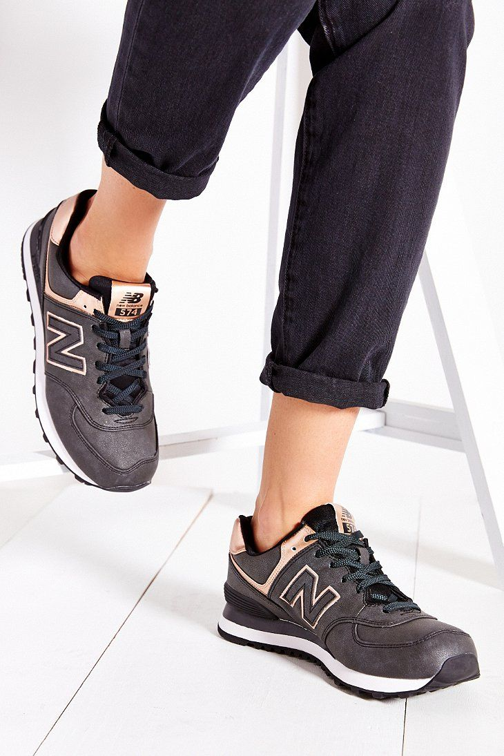 women new balance 574 metals