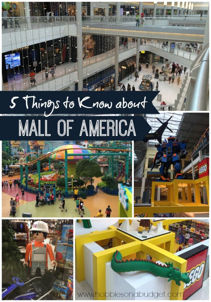 5 Things to Know about Mall of America.  Check out these tips before you head out to the largest Mall in the United States!