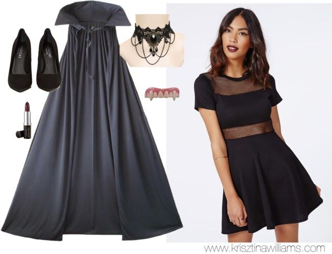 Best 25 black dress halloween costume ideas on pinterest black 25 halloween costumes you can make with your little black dress costumes for teenage girldiy solutioingenieria Image collections