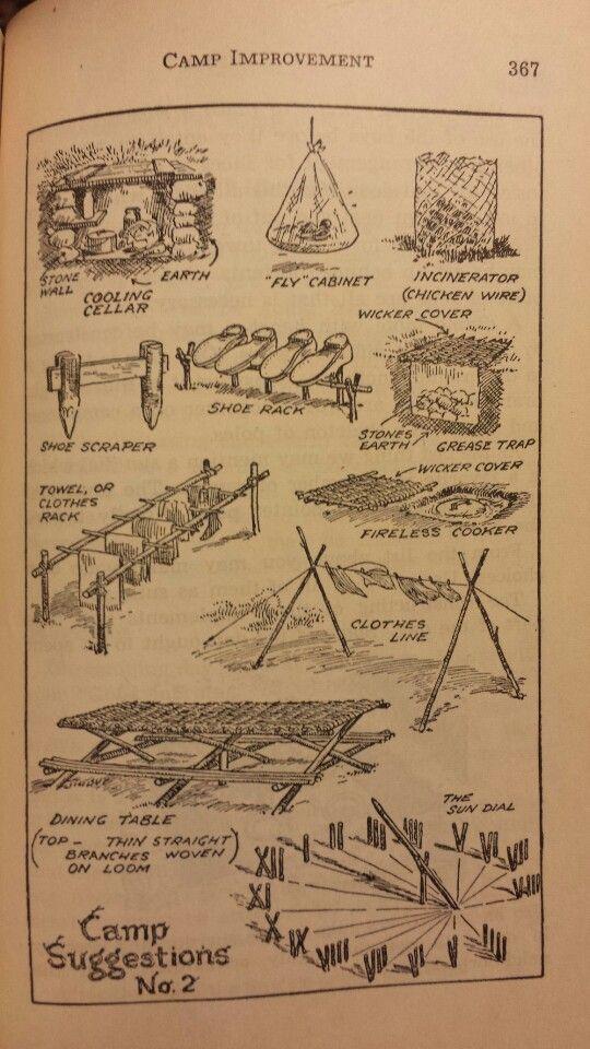 Camp Improvements 2 - Handbook for Patrol Leaders 1949: