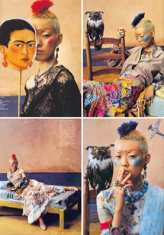 Frida-Kahlo-inspired-fashion-from-Russian-Elle-Magazine