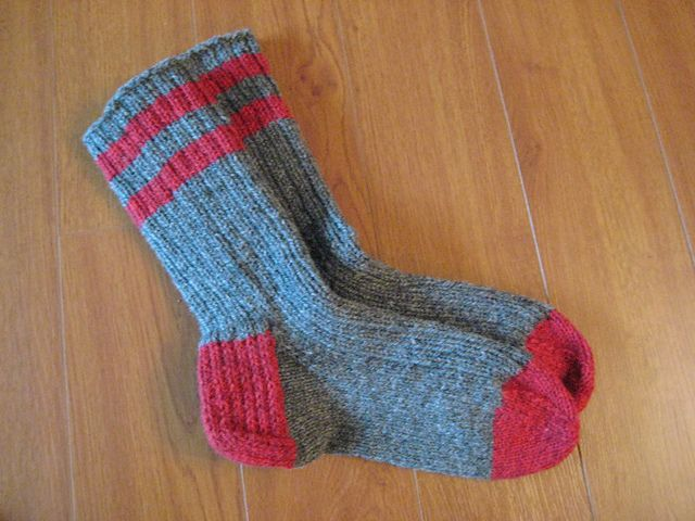 Heavy Socks pattern by Briggs & Little Ravelry and Socks