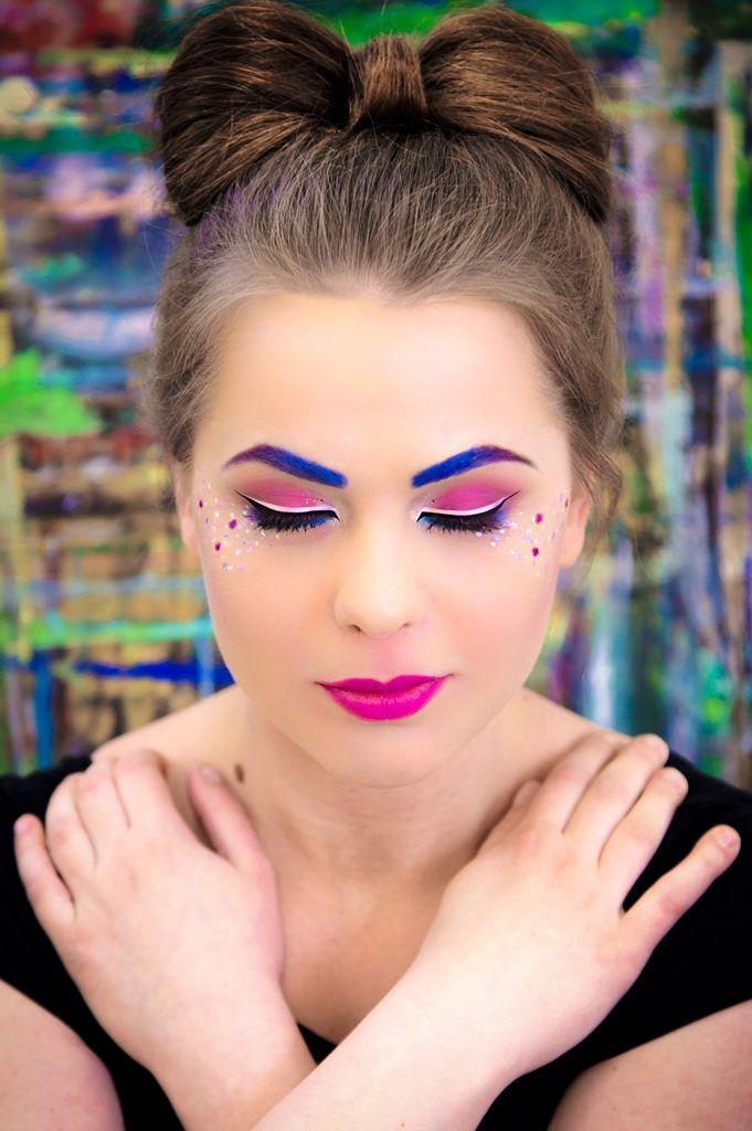 Szkoła Wizażu i Charakteryzacji SWiCH | Make-up: Kinga Wojciechowska | Model: Justyna Parzych | Photo: Anita Kot #wizaż #makeup #makijaż #akademia_SWiCH #SWiCH