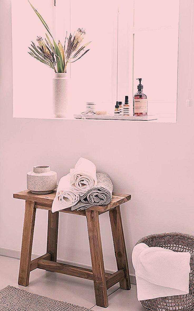 Badezimmer Ideen Aufbewahrung Handtucher Hocker Lawas Aus Teakholz Badezimmer Ideen Dekoration Ablage In 2020 Decor Home Decor Furniture