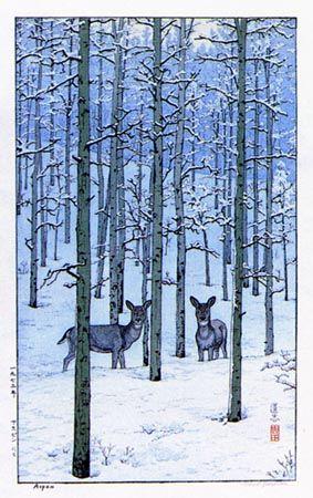 Aspen by Toshi Yoshida, 1973