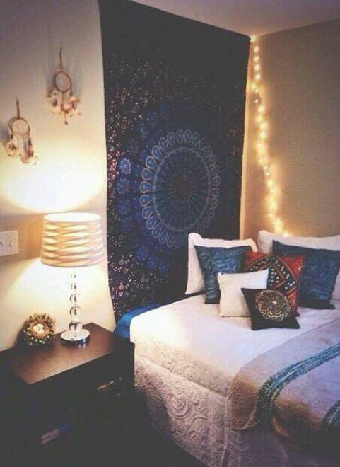 Hipster o bohémien arredare con stile la camera da letto