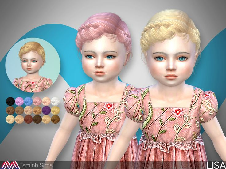 Crown - Braid hairstyle  Found in TSR Category 'Sims 4 Female Hairstyles'