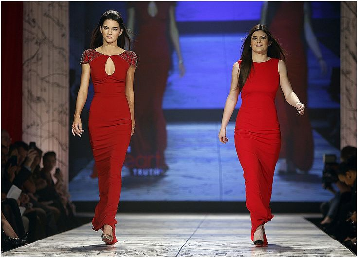 Kendall Jenner - February 6th 2013 - The Heart Truth 2013 Fashion Show