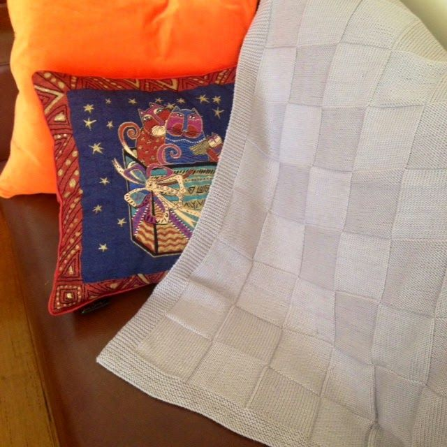 Easy Knitted Blanket