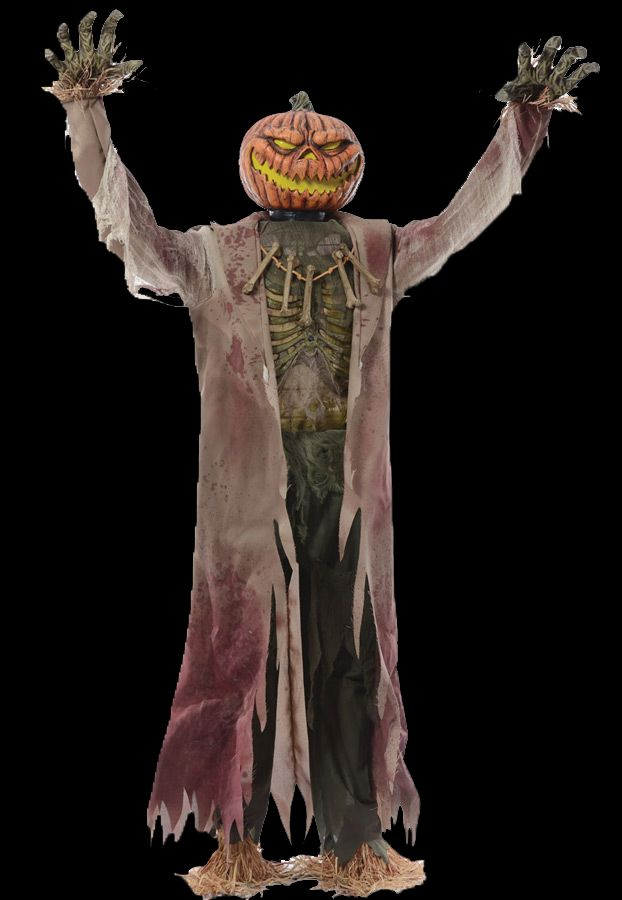24 best animated halloween props images on pinterest for Animated scarecrow decoration