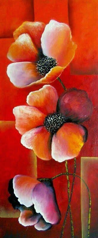 Pintura de flor