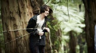Felix enjoying his time in nature. Nowhere Boys.