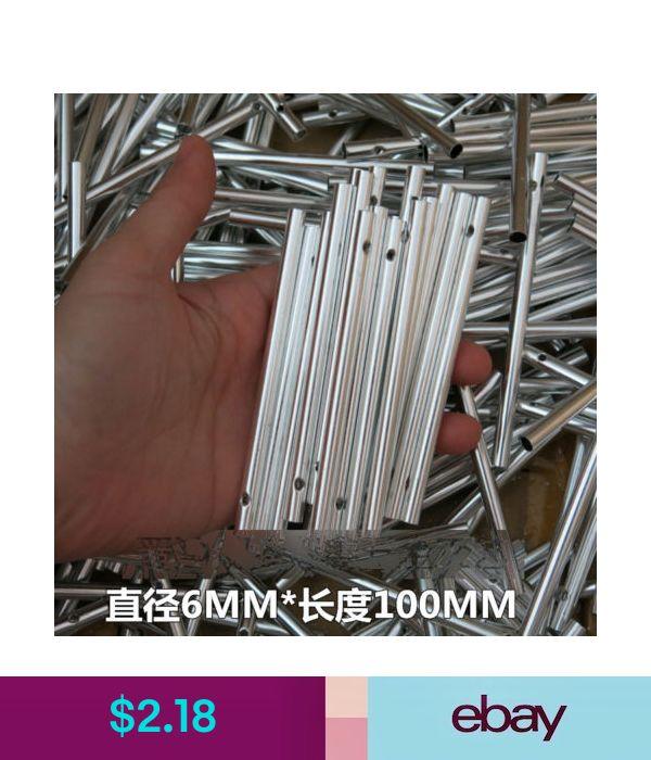 10pcs Aluminum Tube 100x6mm for DIY Make Wind Chime Windchime Kids Craft