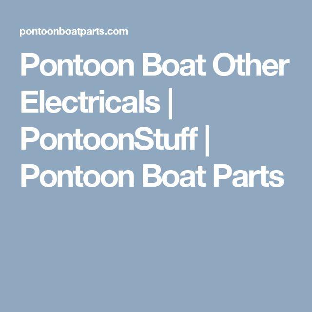 Pontoon Boat Other Electricals | PontoonStuff | Pontoon Boat Parts