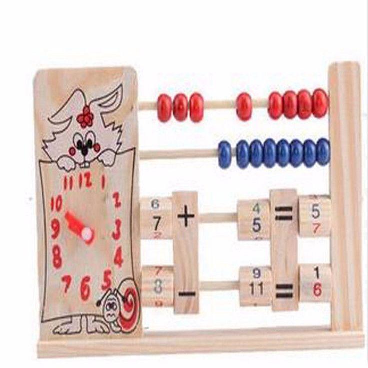 #Деревянный 2-х Рядный Abacus