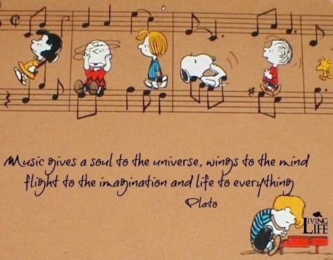Music gives a soul to the universe, wings to the mind, height to the imagination…