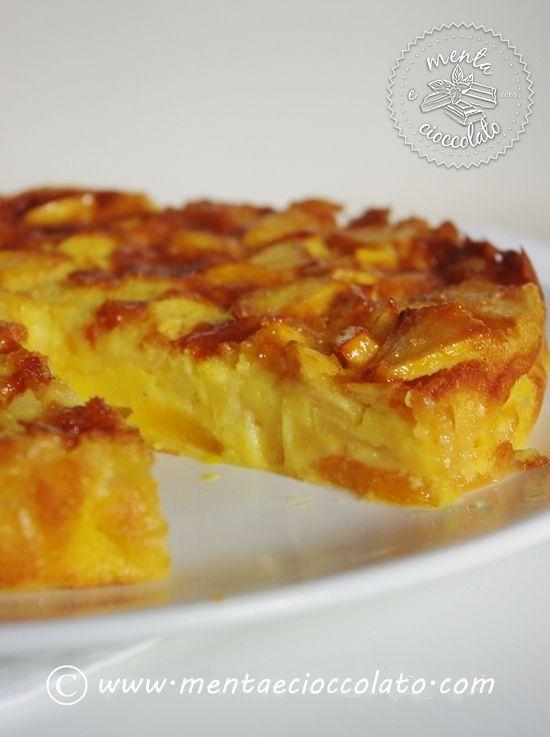Torta alla frutta: torta 4 stagioni con frutta mista, da cucinare tutto l'anno, preparata con la frutta fresca o sciroppata.