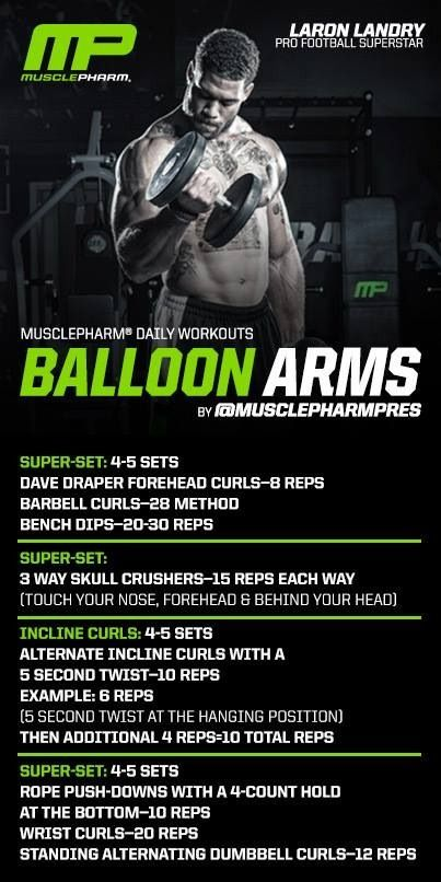 I rate this 9/10 for a good arm workout.