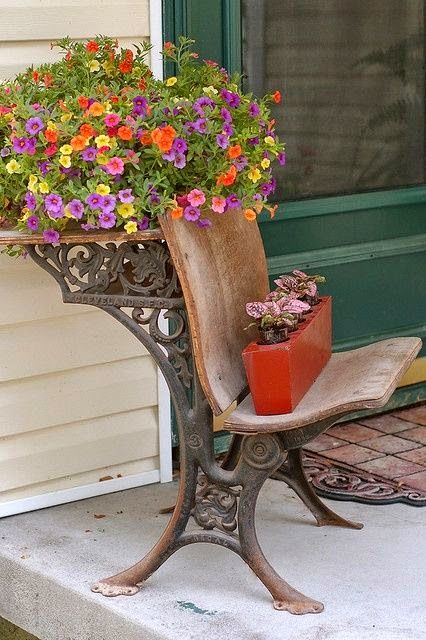 Flower Container Ideas | Outdoor Flower container ...
