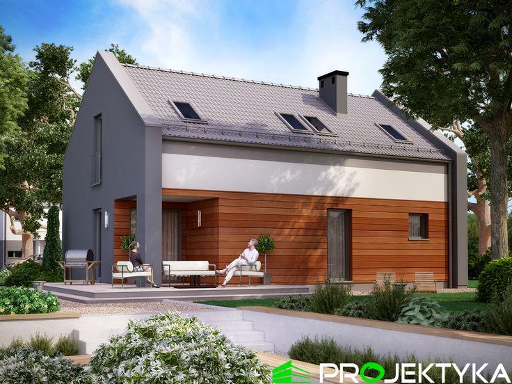 ➡️Sprawdźcie nasze projekty domów do 120 m2...⤵️ Ka25 http://bit.ly/projekty-do-120-m2 🔸parterowy z poddaszem użytkowym 🔸energooszczędny  🔸strefa nocna na poddaszu
